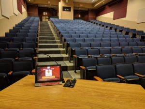 Humanities 2650 from the front